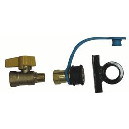 Quick Disconnect Gas Barbeque Valve Kit thumb