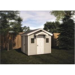 10' x 10' 2 Door Storage Shed Playhouse Package, with Siding thumb