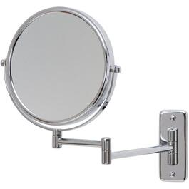 "8"" Chrome Wall Mount Extension Mirror thumb"