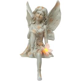 Solar Fairy Garden Statue, Assorted Designs thumb