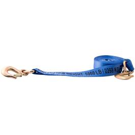 "10000lbs Capacity 2"" X 20' Medium Box Tow Strap thumb"