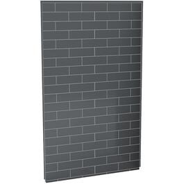"48"" Thunder Grey U Tile Back Shower Wall thumb"