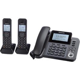 3 Pack Dect 6.0 Cord/Cordless Answerphones thumb