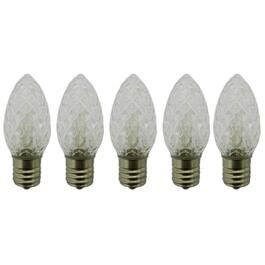5 Pack Retrofit Warm White C9 LED Bulbs thumb