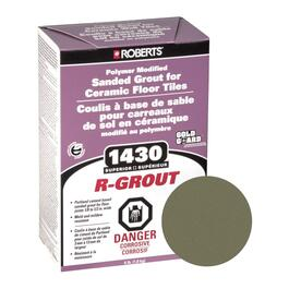 4lb Natural Grey Sanded Floor Grout thumb