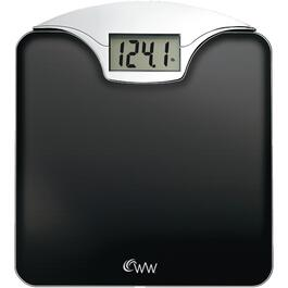 400lb Capacity Black Glass Digital Bath Scale thumb