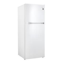 10 cu. ft. White Top Mount Freezer Fridge thumb
