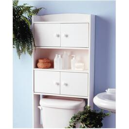 "65"" x 25"" White 4 Door Johnny Bath Cabinet thumb"