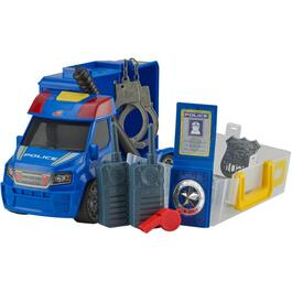 Battery Operated Push and Play Police Car with Lights and Sound thumb