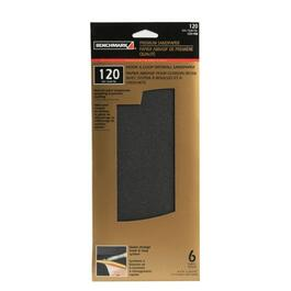 "6 Pack 4.5"" x 10.5"" 120 Grit Silicon Drywall Sandpaper thumb"