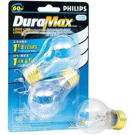 2 Pack 60W A15 Medium Base Fan + Garage Clear Light Bulbs thumb
