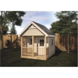 6' x 8' #51-07 Playhouse Shed Kit Package thumb