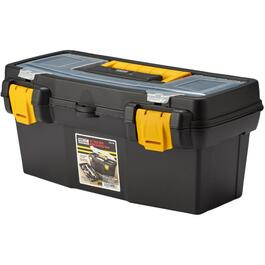 "16"" x 8"" x 7"" Tool Box, with Plastic Tray thumb"