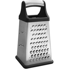 Stainless Steel 4 Sided Cheese Grater thumb