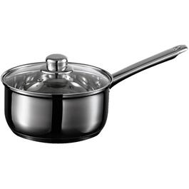 1.7 Quart Stainless Steel Saucepan, with Cover thumb
