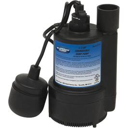 1/3 Horse Power Submersible Sump Pump, with Float Switch thumb
