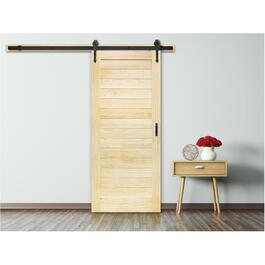 "36"" x 84"" Flair Sliding Barn Door, with Hardware thumb"