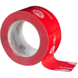 60mm x 66m Easy Tear Red Construction Grade Sheathing Tape thumb
