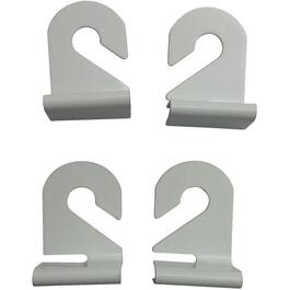 4 Pack White Suspended Ceiling Hooks thumb