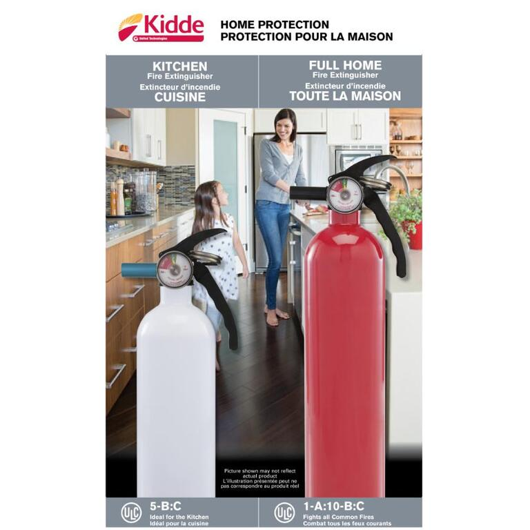 Kidde 2 Pack Kitchen And Home Fire Extinguishers Home Hardware Canada