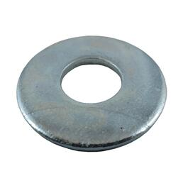 "5 Pack 1/2"" Zinc Plated Flat Washers thumb"