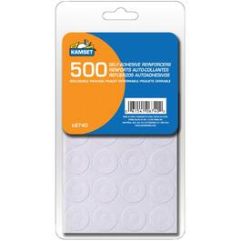 500 Pack White Paper Reinforcements thumb