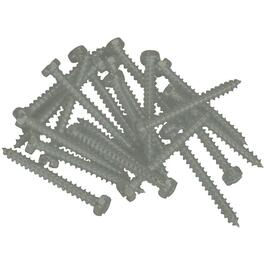"100 Pack 6"" x 5/8"" Sable Pan Head Screws, for Aluminum Soffit and Fascia thumb"