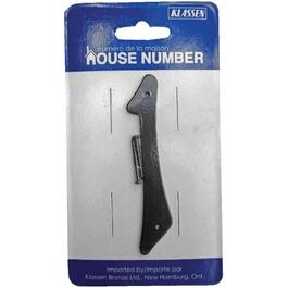 "3.5"" Aluminum Nail-On '1' House Number thumb"