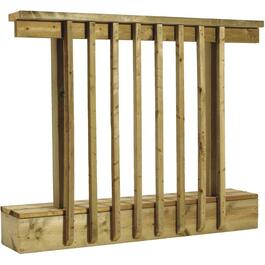 "36""H x 4'W Pressure Treated Baluster 'A' Railing Package thumb"