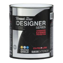 850mL Suede Finish Clear Base Exterior Latex Paint thumb