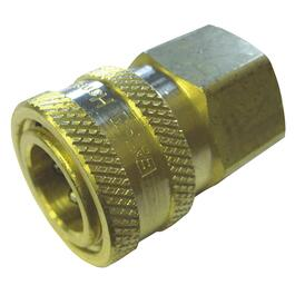 "3/8"" FNPT Brass Quick Coupler thumb"