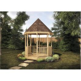 10' x 10' Pressure Treated Octagon Gazebo Package thumb