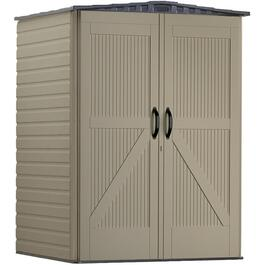 4' x 4' Medium Roughneck Vertical Storage Shed thumb