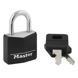 "1-9/16"" Covered Brass Padlock thumb"
