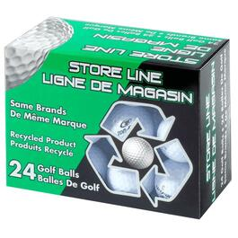 24 Pack Mixed Reused Golf Balls thumb