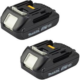 2 Pack 18 Volt Lithium-ion Battery thumb