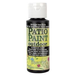 2oz Wrought Iron Black Acrylic Patio Paint thumb