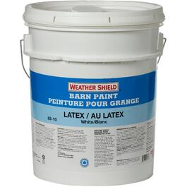 18.2L White Exterior Latex Barn Paint thumb