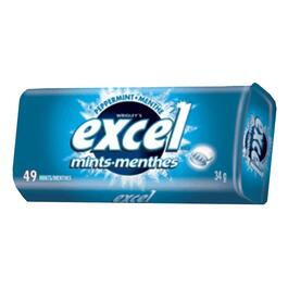 34g Excel Peppermint Breath Mints in Tin thumb