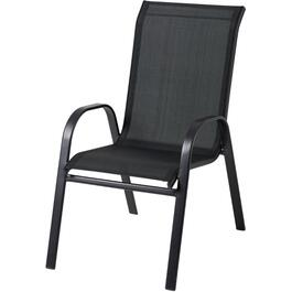 Empress Steel Stacking Sling Dining Chair thumb
