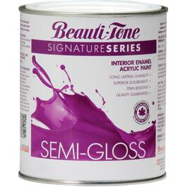 911mL White Base Semi Gloss Interior Latex Paint thumb