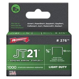 "1000 Pack 3/8"" Staples, for JT21 Stapler thumb"