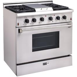 "36"" Stainless Steel  Pro-Style Gas Range thumb"