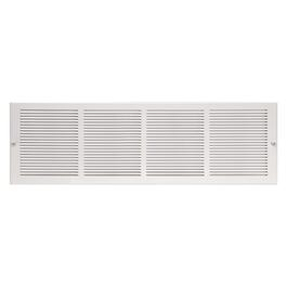 "6"" x 24"" White Sidewall Grille thumb"