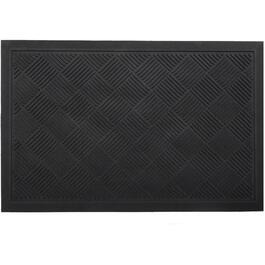 "20"" x 30"" Solid Blade Recycled Rubber Door Mat thumb"