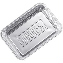 "10 Pack 8.75"" x 6"" Barbecue Aluminum Foil Drip Pans thumb"