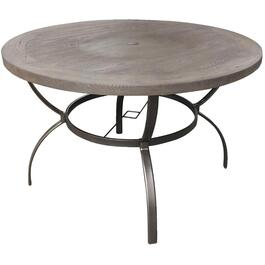 "48"" Palos Wood-Look Round Dining Table thumb"