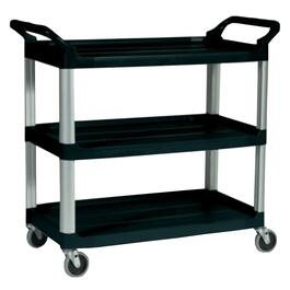 300lb Capacity Utility Cart, with Casters thumb