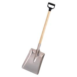 "11"" Blade Aluminum D-Grip Handle Snow Shovel thumb"