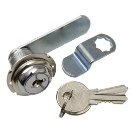 "1/2"" Chrome Utility Drawer Lock thumb"